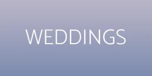 What We Do - Weddings