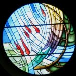UPC's stained glass window
